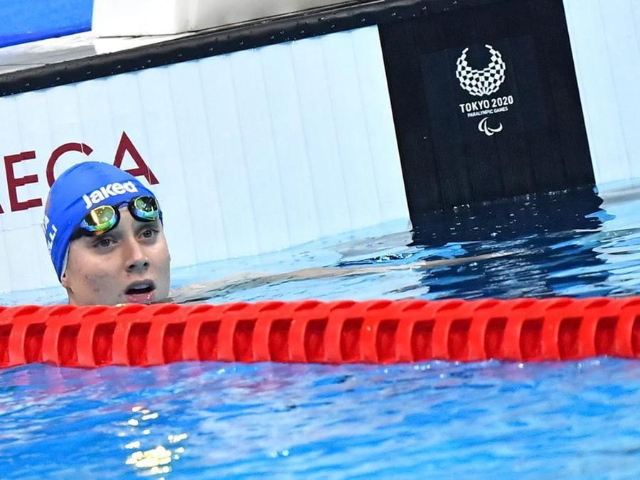 Carlotta Gilli bronzo nella 50 stile S13 donne ANSA/ Bizzi/CIP