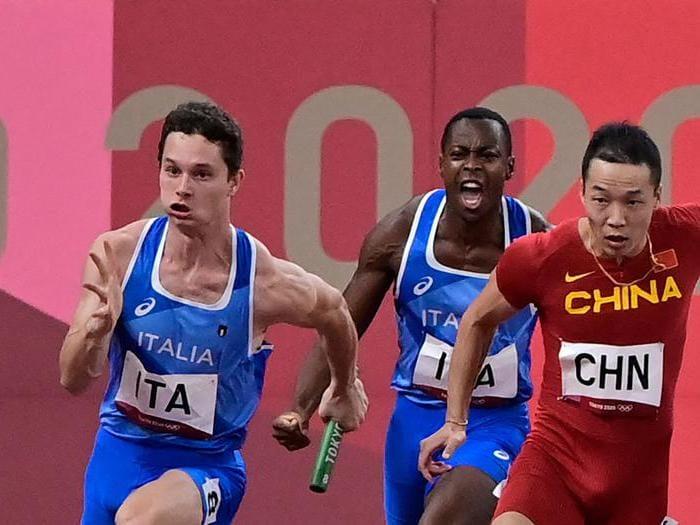 Staffetta 4x100, storico oro Italia