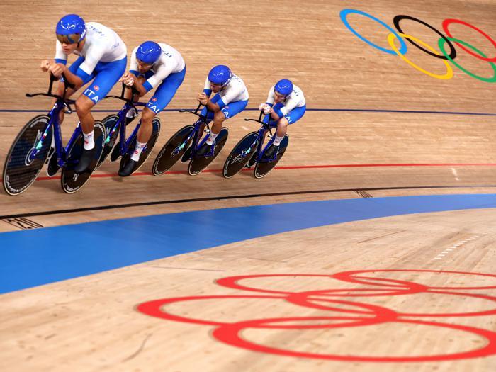 Tokyo 2020: Italia d'oro nel ciclismo su pista