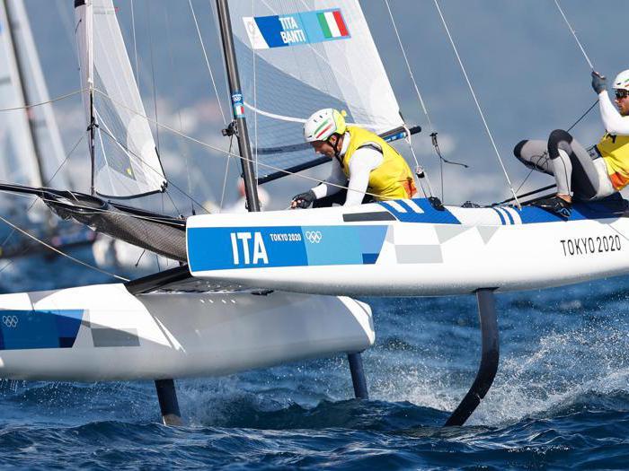 Tokyo 2020, Tita e Banti conquistano l'oro nella vela
