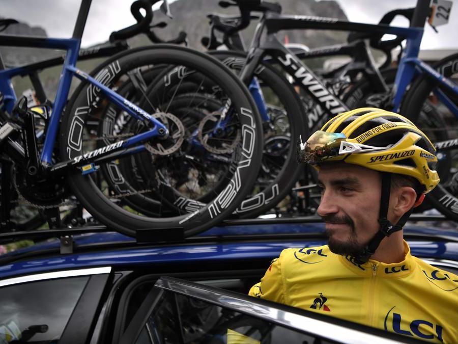 Julian Alaphilippe (Photo by Marco Bertorello / AFP)