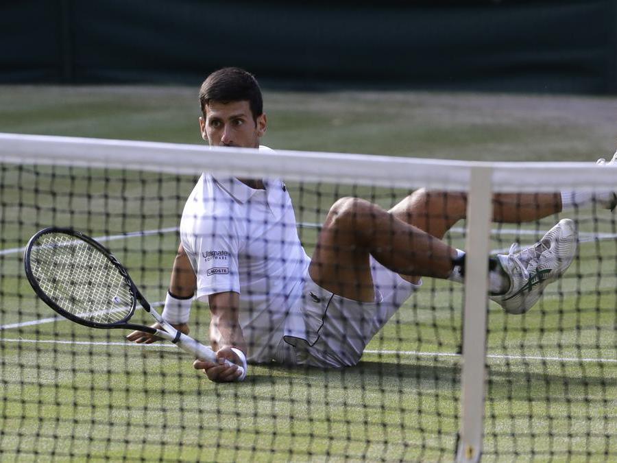 Novak Djokovic. (AP Photo/Ben Curtis)