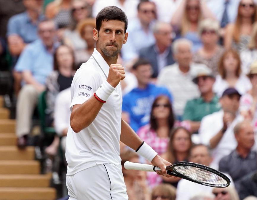 Novak Djokovic. EPA/NIC BOTHMA