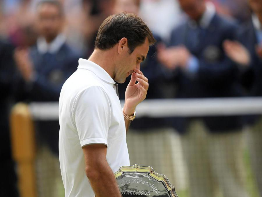 Roger Federer. REUTERS/Toby Melville
