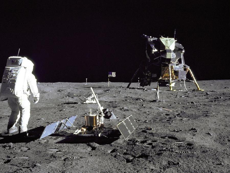 29 luglio 1969. Buzz Aldrin (Reuters)