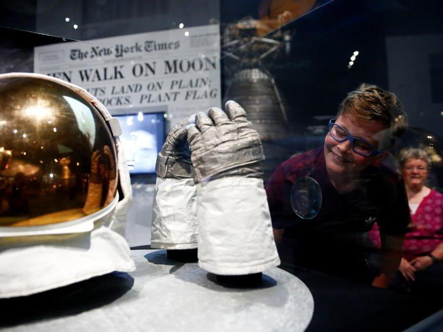 16 luglio  2019,  Seattle, Washington. Museum of Flight (Reuters)