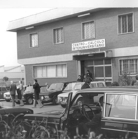 La vecchia sede bolognese del Consorzio interuniversitario Cineca