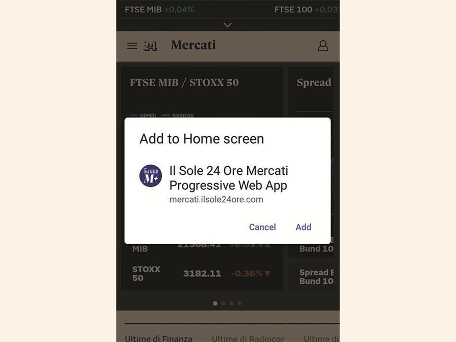 PWA - Il nuovo M+ sfrutta la tecnologia delle «Progressive Web App» di Google per offrire una fruizione ripensata di tutti gli strumenti inclusi nell'offerta: design responsive su ogni device, pagine disponibili anche offline, possibilità di scaricare l'app per accedere al servizio in un clic