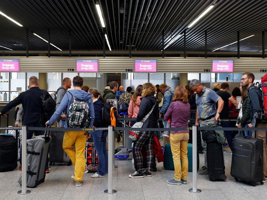 Aeroporto di Francoforte. (Reuters/Kai Pfaffenbach)