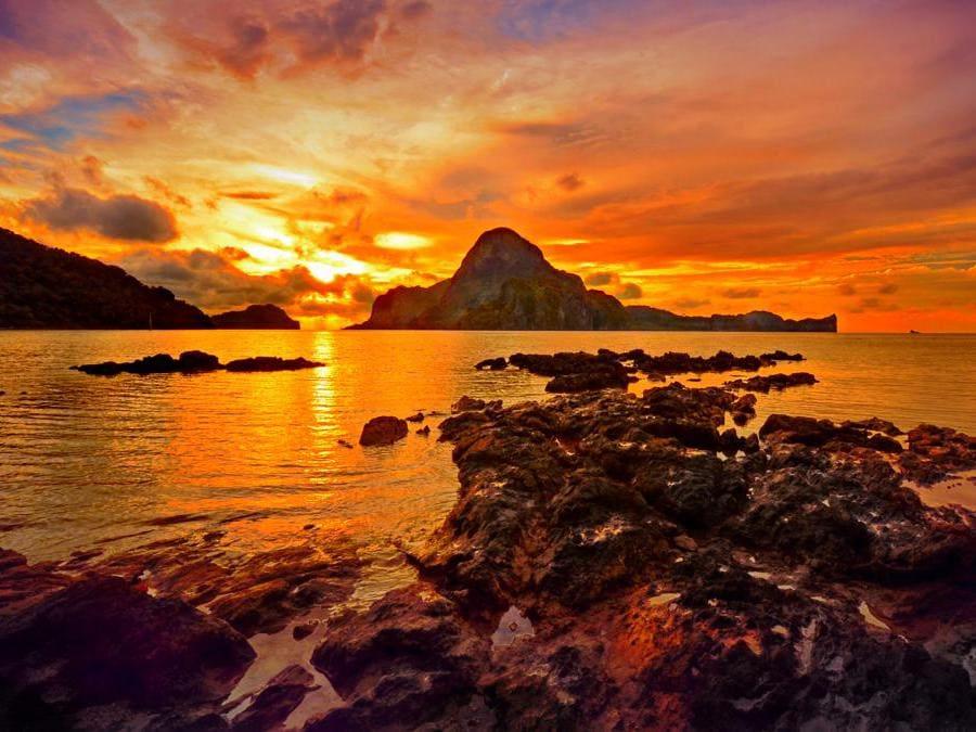 El Nido, Palawan, Filippine. (Common Wikimedia)