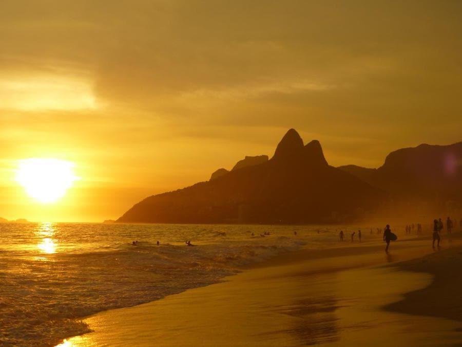 Ipanema Beach, Rio de Janeiro, Brasile. (Pixabay, Eacuna)