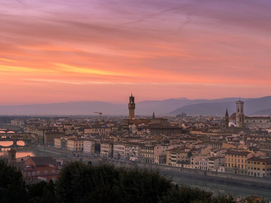 Piazzale Michelangelo, Firenze, Italia. ( Bjorn Snelders)