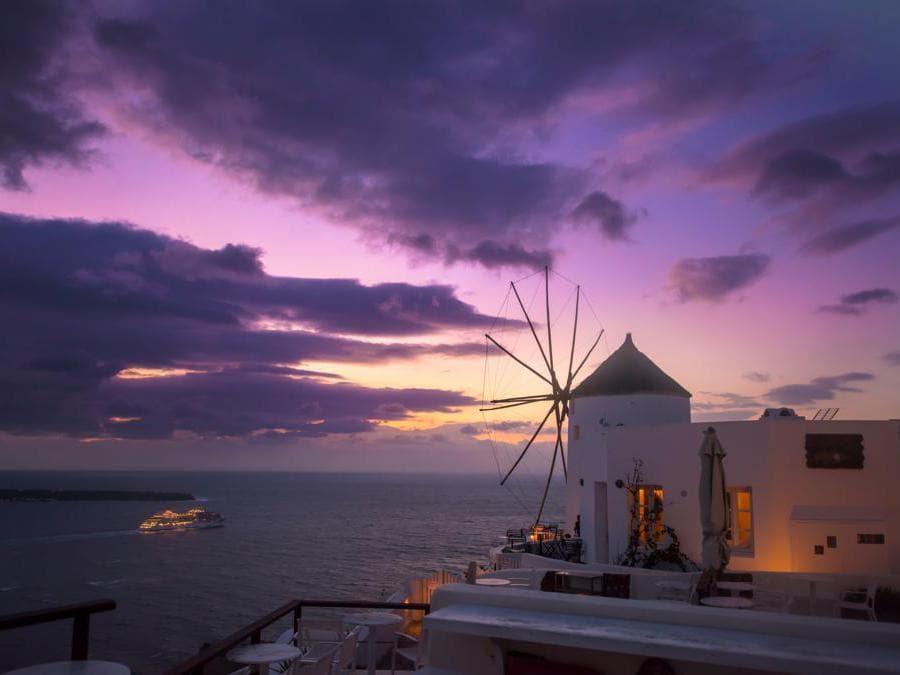 Santorini, Grecia. (Kyler Boone)
