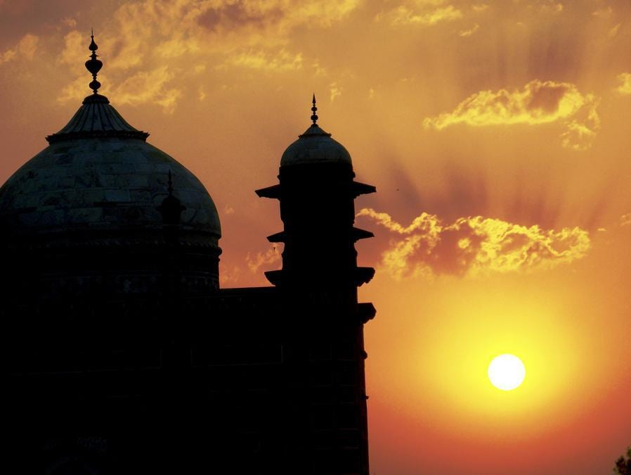Taj Mahal, Agra, India. (Commons Wikimedia)