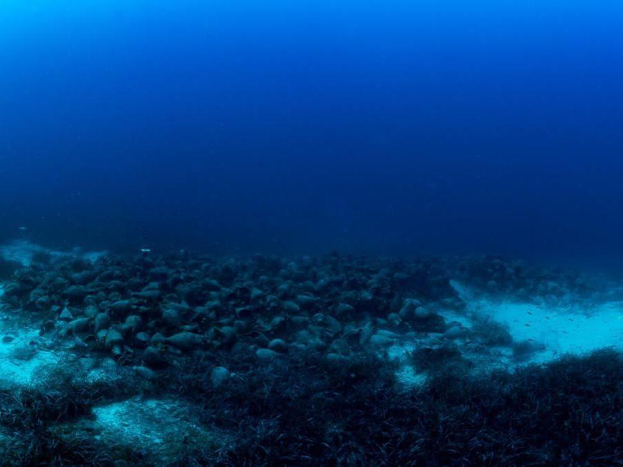 Copyright: Ministry of Culture and Sports, Ephorate of Underwater Antiquities; photo by Matteo Collina, Università della Calabria – Dimeg