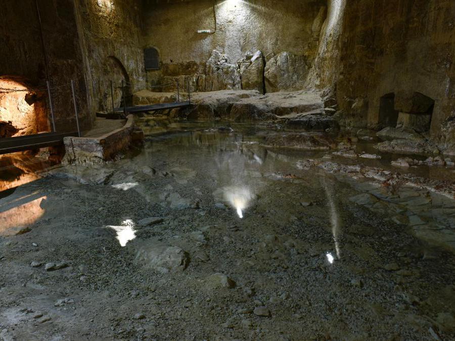La sorgente del Gabriele di Palermo