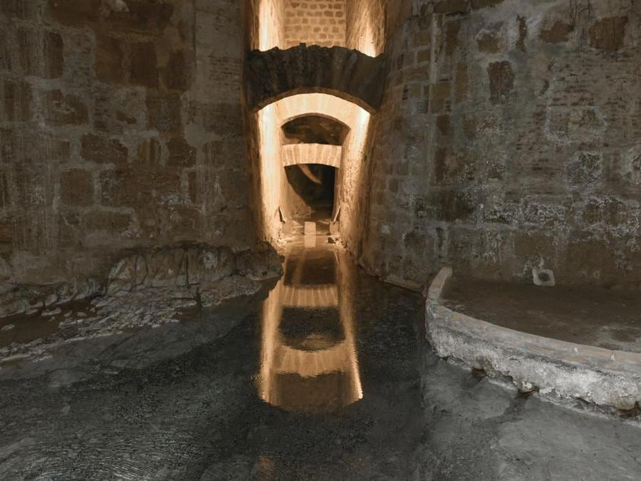 La sorgente del Gabriele di Palermo.