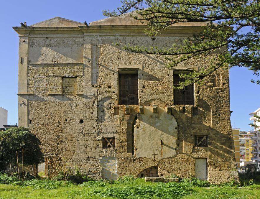 Palermo, Villa Napoli, Prospetto orientale
