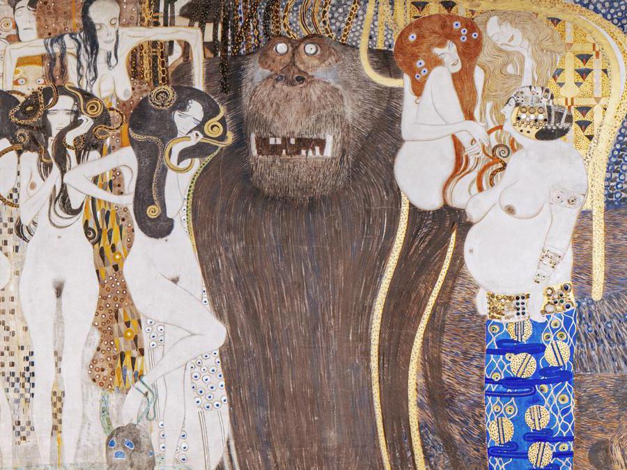 Gustav Klimt, Fregio Beethoven , Secession (Vienna Tourist Board, Paul Bauer)