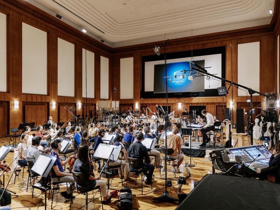 La sala di registrazione delle colonne sonore dei film Synchron Stage Vienna (Vienna Tourist Board, Paul Bauer)